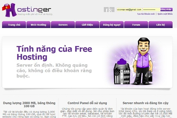 hosting-tot-nhat-hostinger