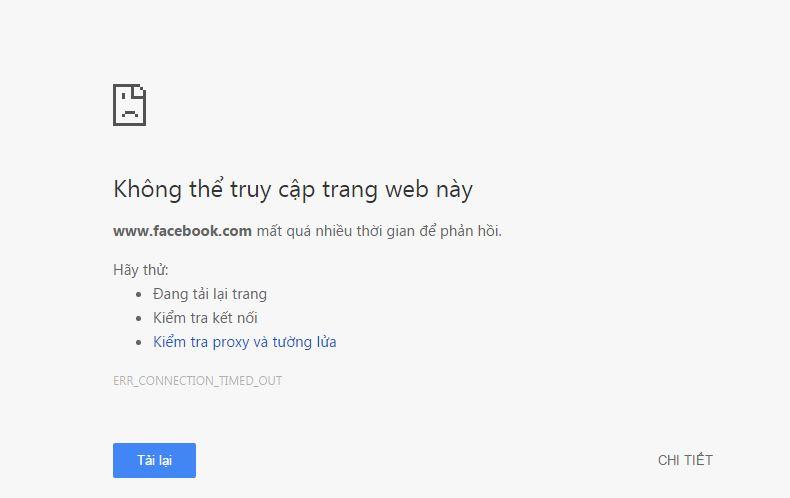 cách vào facebook chăn tháng 5