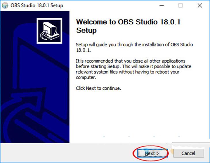 Hướng dẫn tải và sử dụng OBS để live stream- bước 1